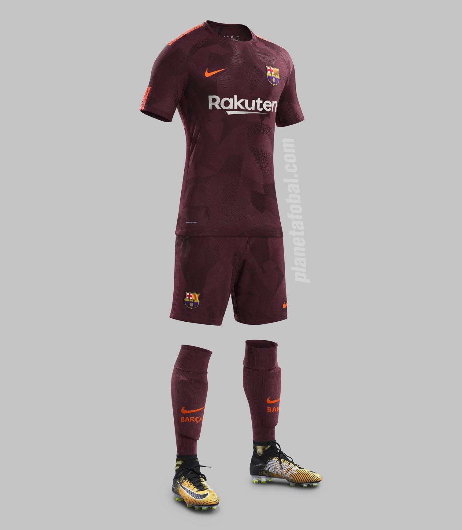 Tercera camiseta del FC Barcelona | Foto Nike