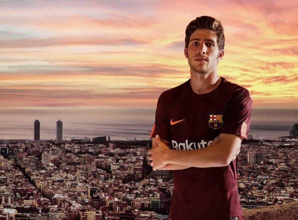 Sergi Roberto con la tercera camiseta del FC Barcelona | Foto Nike