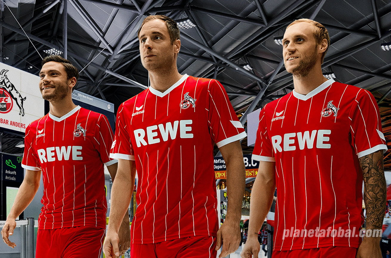 Europatrikot Erima del FC Köln | Foto Web Oficial
