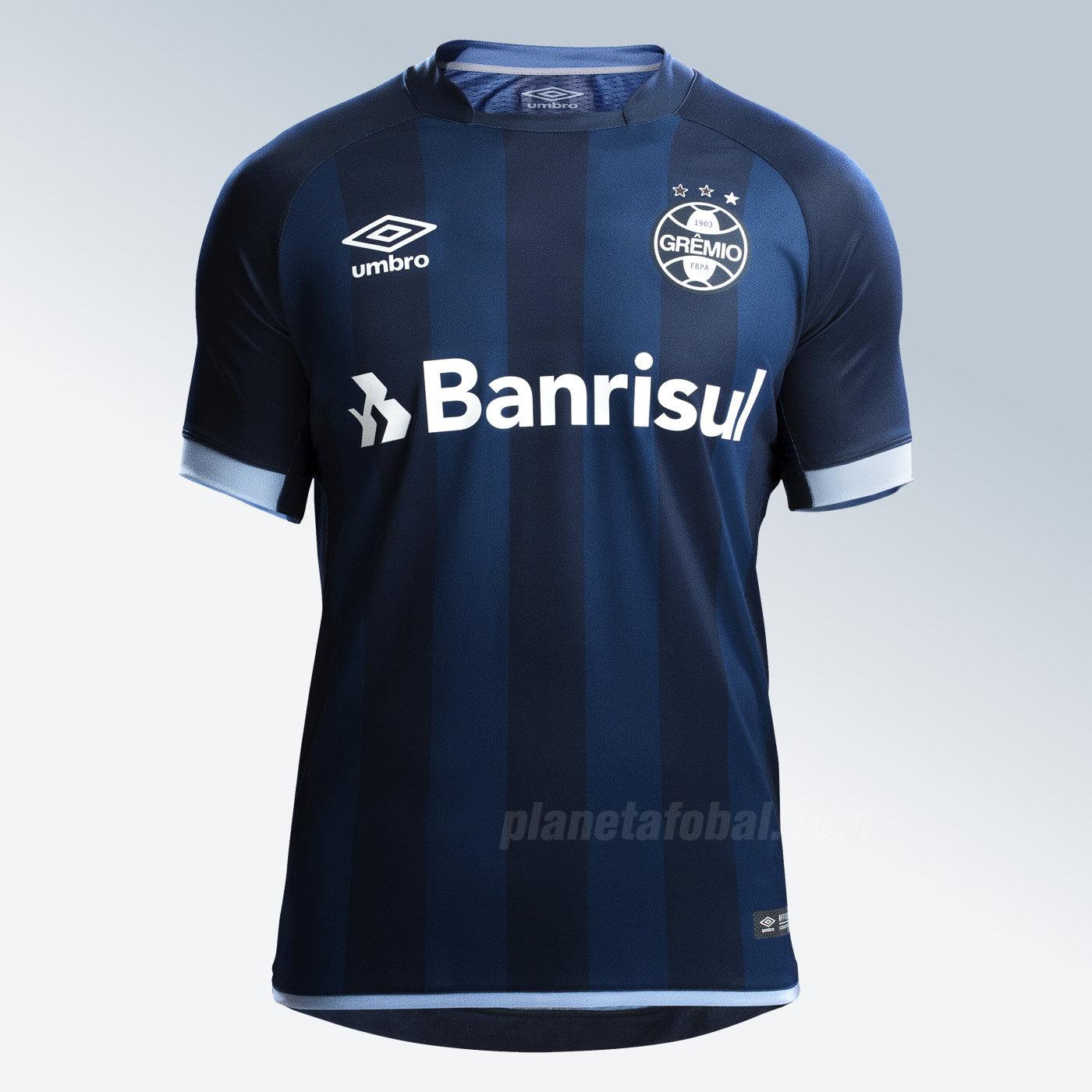 Tercera camiseta del Grêmio | Foto Web Oficial