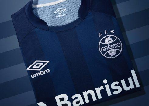 Tercera camiseta del Grêmio   Foto Umbro