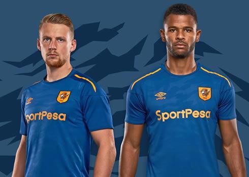 Tercera camiseta Umbro del Hull City | Foto Web Oficial