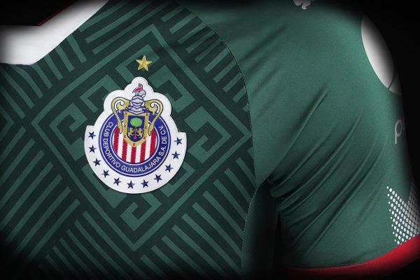 Tercera camiseta de las Chivas de Guadalajara   Foto Puma