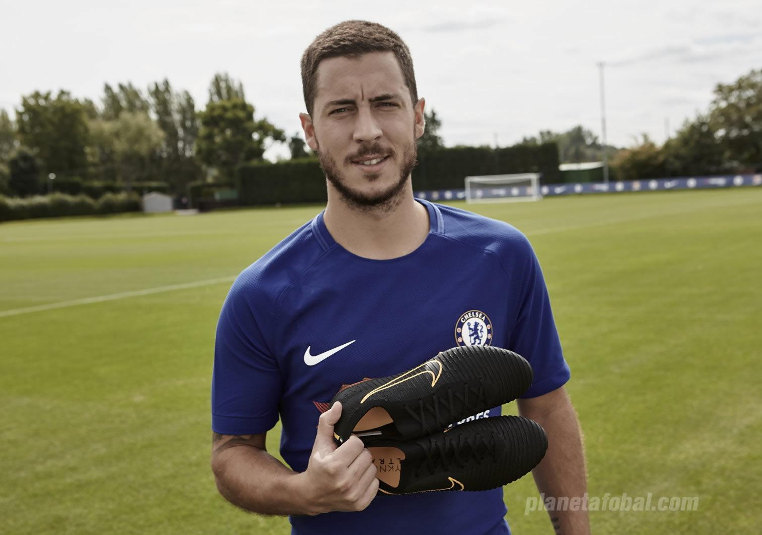 Eden Hazard estrenará los botines | Foto Nike