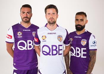 Nuevas camisetas Macron del Perth Glory | Foto Web Oficial