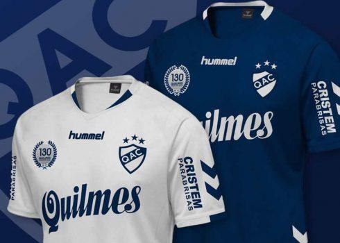 Nuevas camisetas de Quilmes | Foto Hummel
