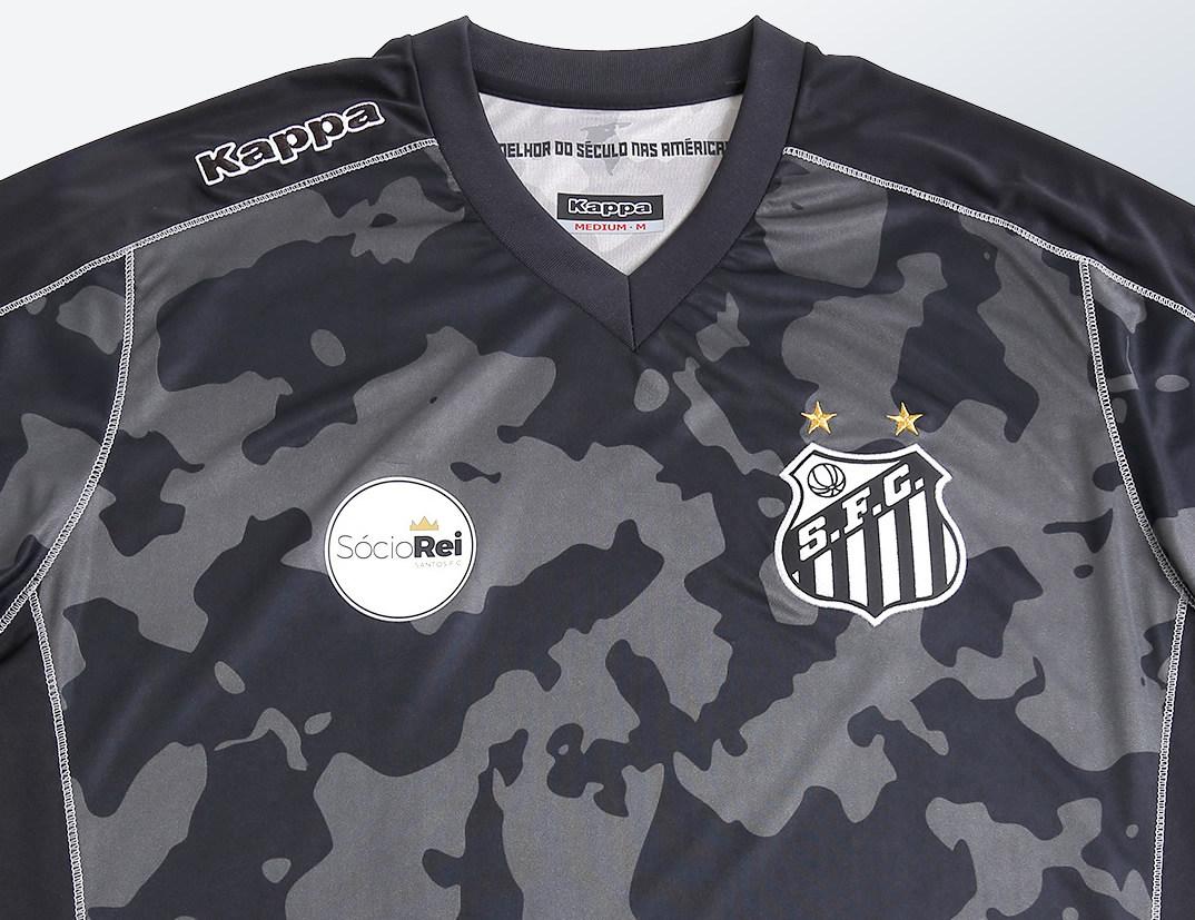 Tercera camiseta Kappa del Santos | Foto Web Oficial