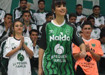 Nuevas camisetas de Sarmiento de Junín | Foto Twitter @sentimientover