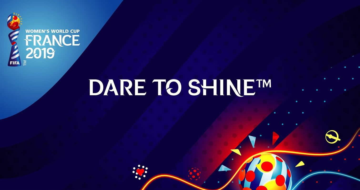 Eslogan oficial del mundial femenino | Imagen FIFA