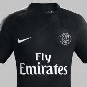 Tercera camiseta del PSG 2017-18 | Foto Nike