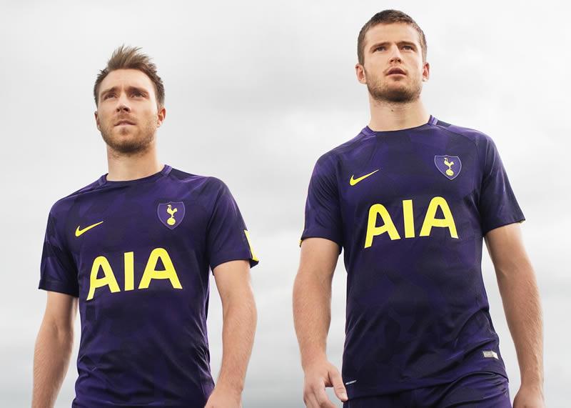 Eriksen y Dier con la tercera camiseta del Tottenham | Foto Nike