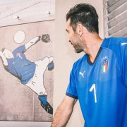 Buffon estrenará el kit ante Macedonia | Foto Puma