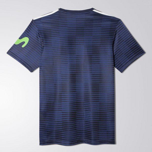 Camiseta titular 2017-18 de la Universidad de Chile | Foto Adidas