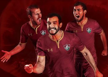 Tercera camiseta 2017-18 del Fluminense | Foto Under Armour
