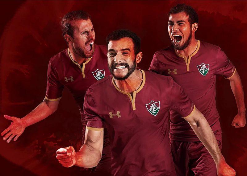 Tercera camiseta 2017-18 del Fluminense | Foto Under Armour
