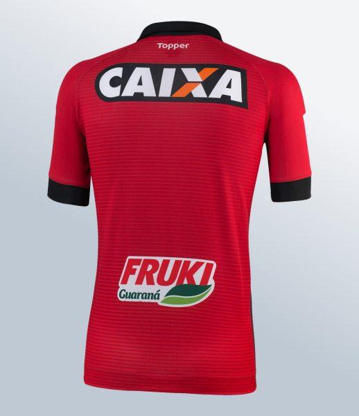 Camiseta titular del Grêmio Esportivo Brasil | Foto Gentileza Topper
