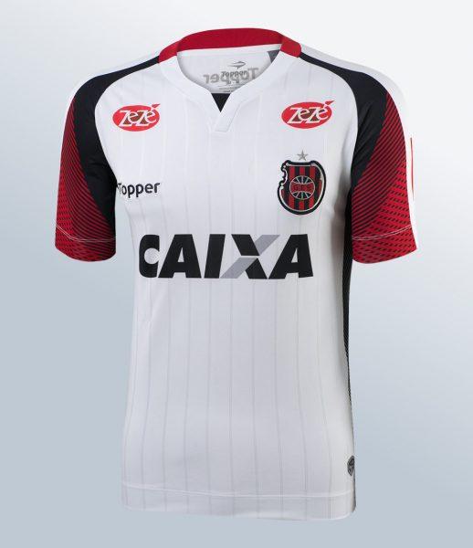 Camiseta suplente del Grêmio Esportivo Brasil | Foto Gentileza Topper