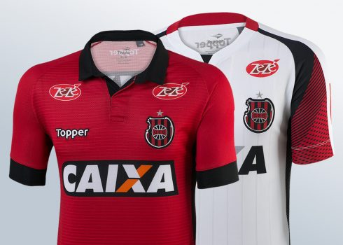 Camisetas del Grêmio Esportivo Brasil | Foto Web Oficial