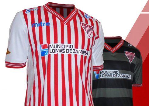 Nuevas camisetas Mitre de Los Andes 2017-18 | Foto Web Oficial