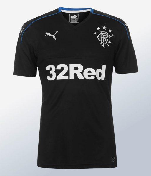 Tercera camiseta Puma del Rangers FC | Foto Web Oficial