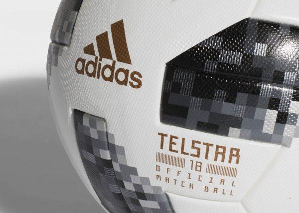 Asi luce el balón Telstar 18 para Rusia 2018 | Foto Adidas