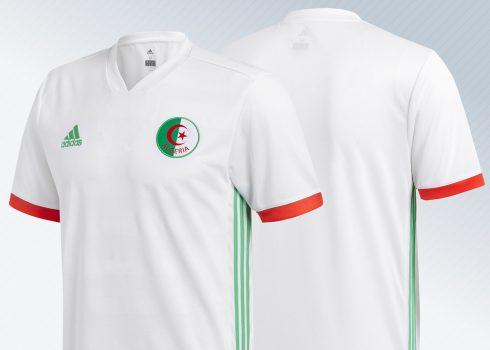 Camiseta titular 2018 de Argelia | Imágenes Adidas