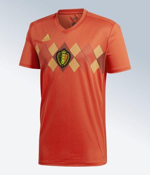 Camiseta titular Mundial 2018 de Bélgica | Imagen Adidas