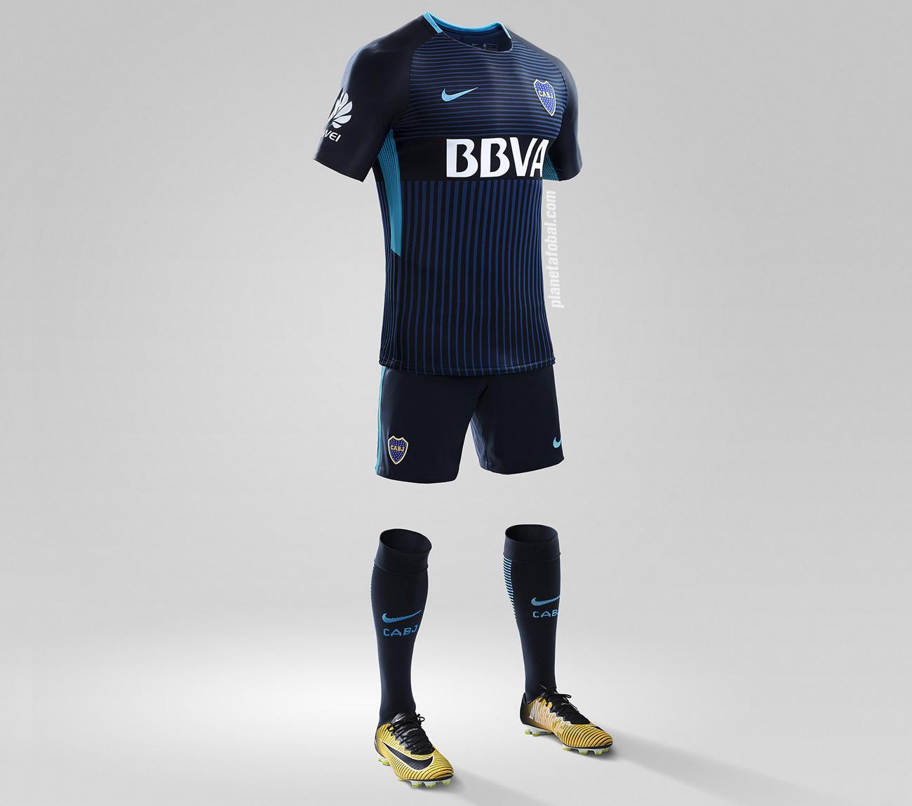 Tercera camiseta Nike de Boca | Imagen Clarin