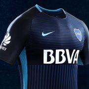 Tercera camiseta Nike de Boca   Imagen Web Oficial