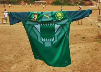 Nueva camiseta titular de Camerún | Foto Puma