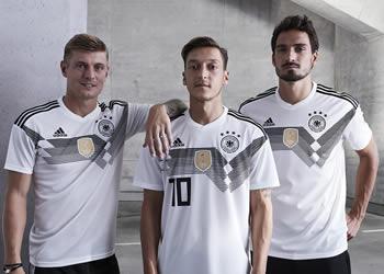 Camiseta titular Mundial 2018 de Alemania | Foto Adidas