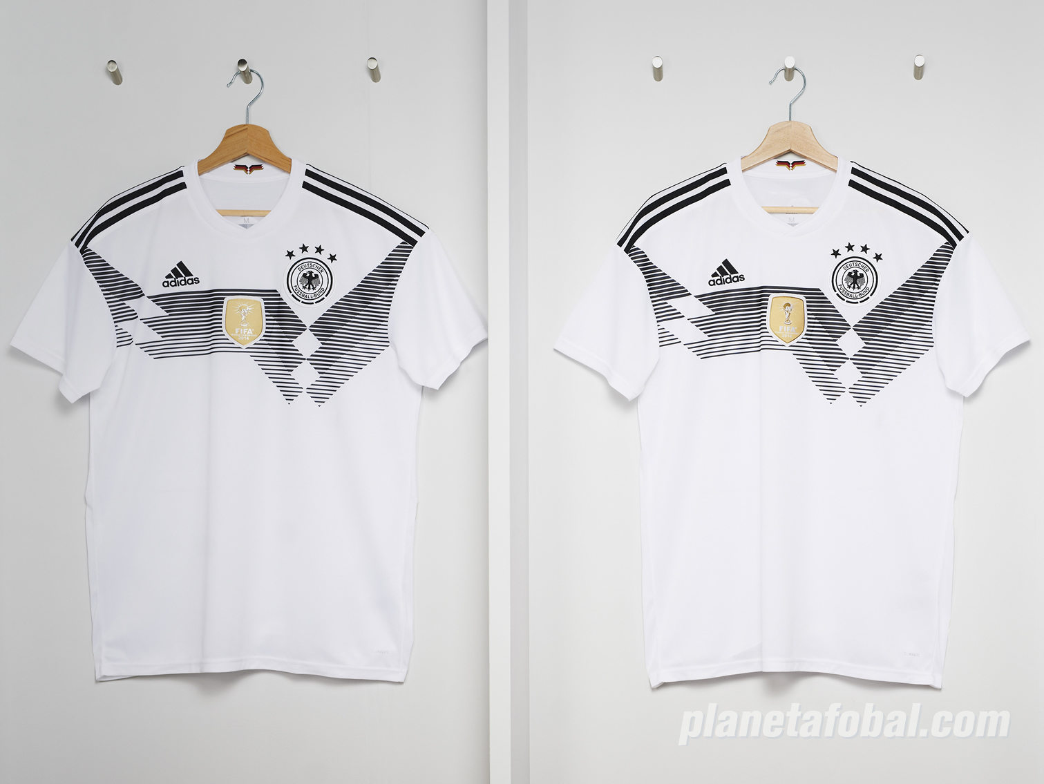 Camiseta titular Adidas de Alemania Mundial 2018 21fbd74d31058