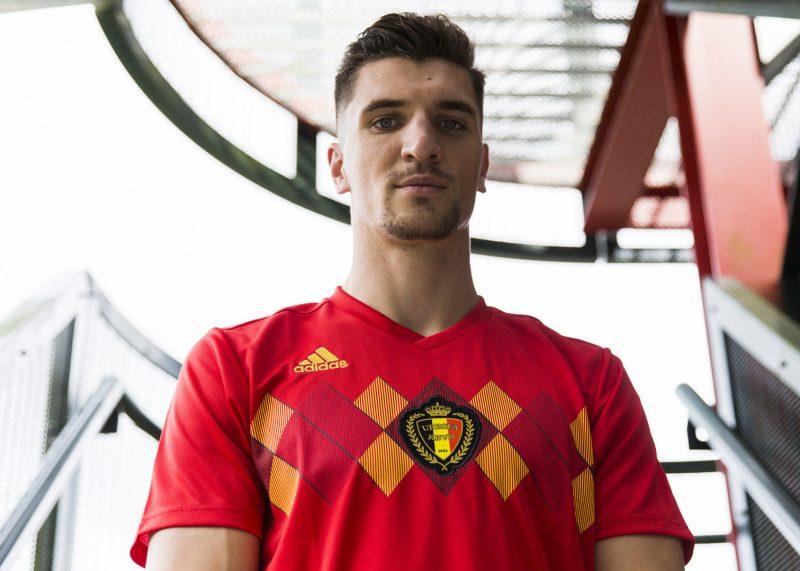 Camiseta titular Mundial 2018 de Bélgica  ef9b415f9305c