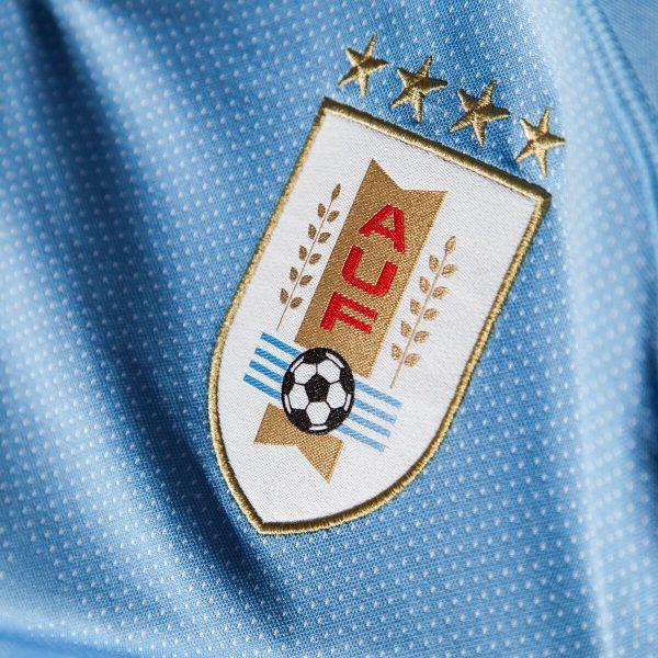 Camiseta titular de Uruguay Mundial 2018 | Imagen Puma