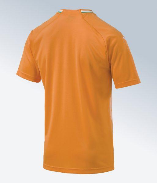 Camiseta titular de Costa de Marfil | Imagen Puma