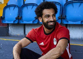 Camiseta titular Mundial 2018 de Egipto | Imágenes Adidas