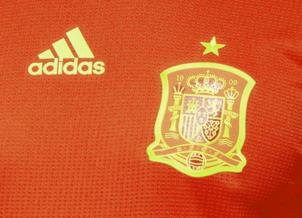 Camiseta titular Mundial 2018 de España | Imagen Adidas