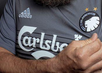Tercera camiseta Adidas del FC Copenhague | Imagen Web Oficial