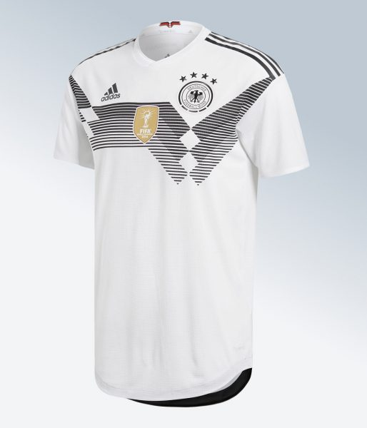 Camiseta titular Mundial 2018 de Alemania | Imagen Adidas