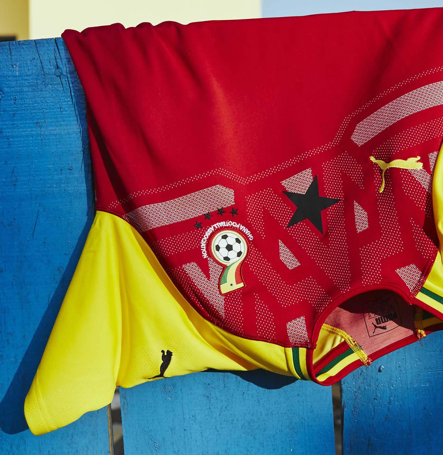 Camiseta titular de Ghana | Imagen Puma