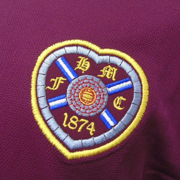 Camiseta edición limitada Umbro del Heart of Midlothian | Imagen Web Oficial