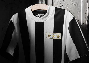 Camiseta conmemorativa 120 años de la Juventus | Foto Web Oficial