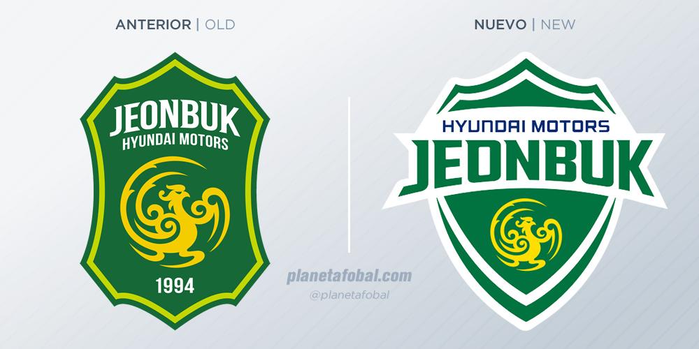Jeonbuk actualizó su logo para 2018