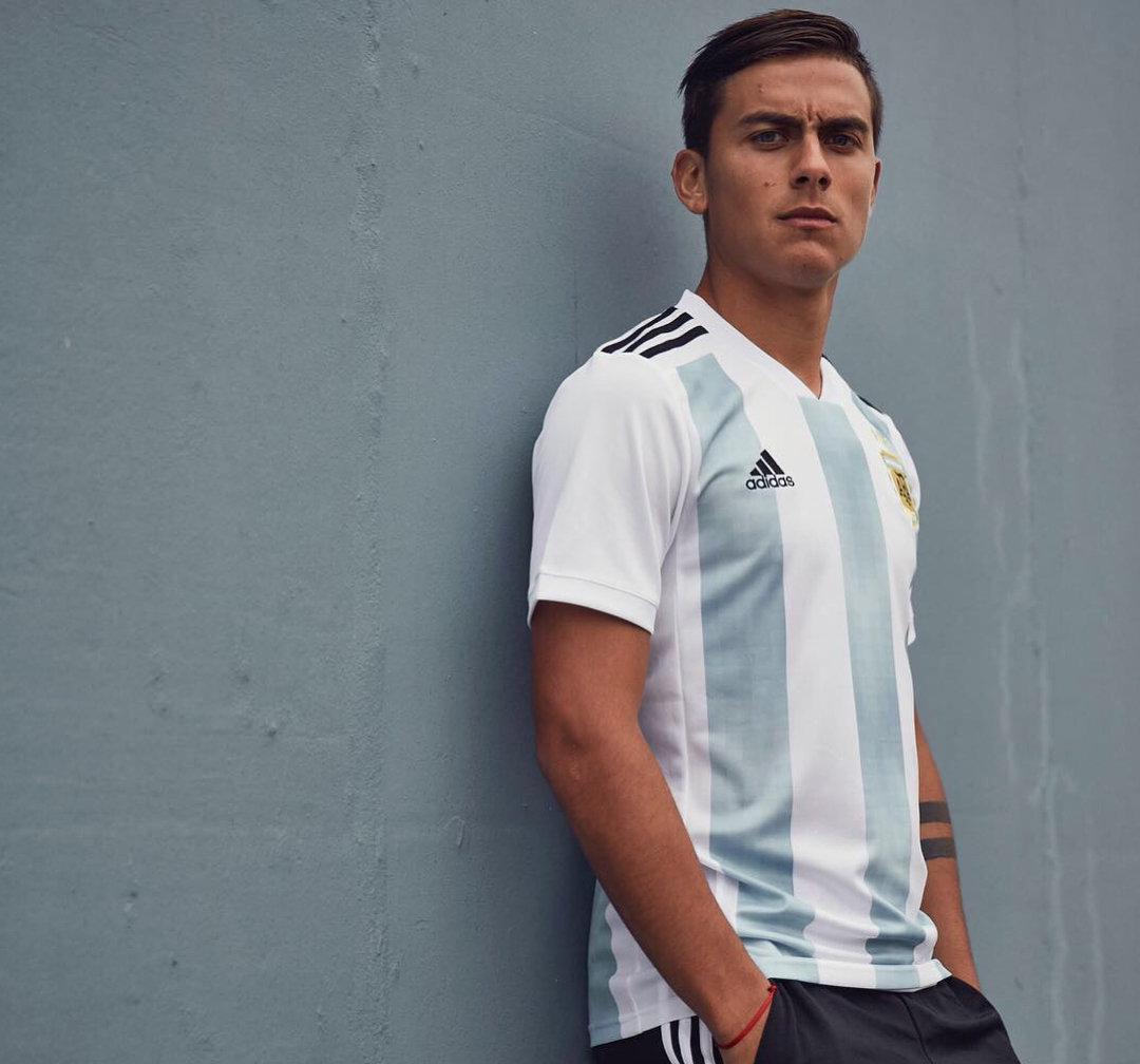 camiseta titular adidas de argentina mundial 2018