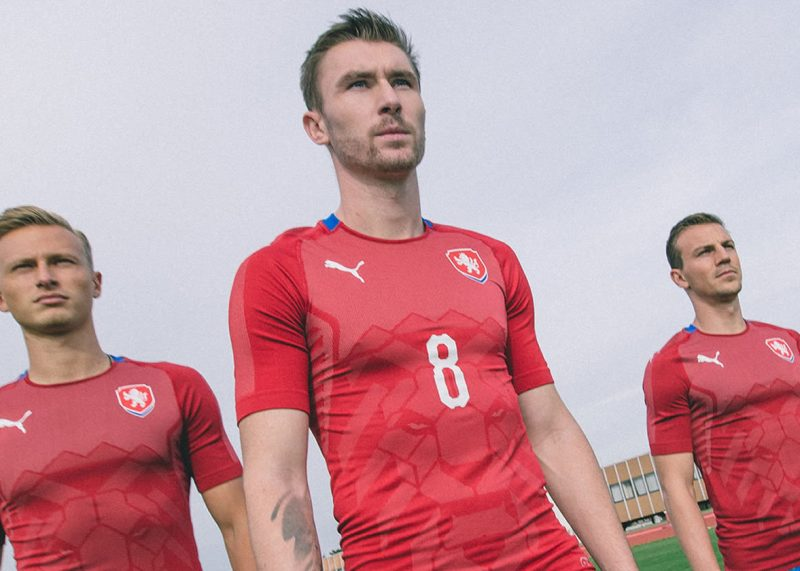 Camiseta titular 2018 de la República Checa | Foto Web Oficial