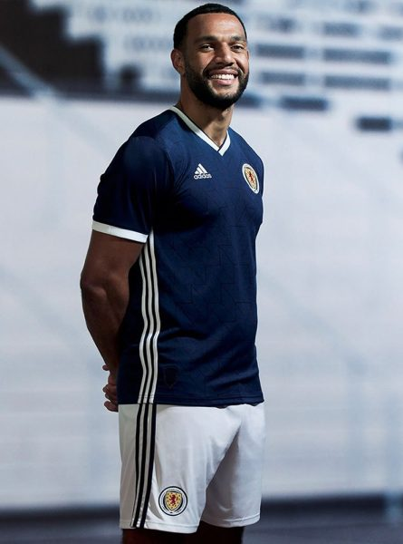 Camiseta titular 2018 de Escocia | Foto Scottish FA