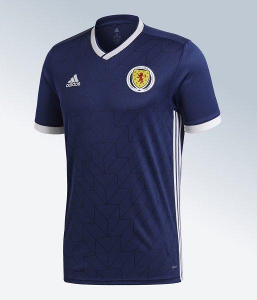 Camiseta titular 2018 de Escocia | Imagen Adidas