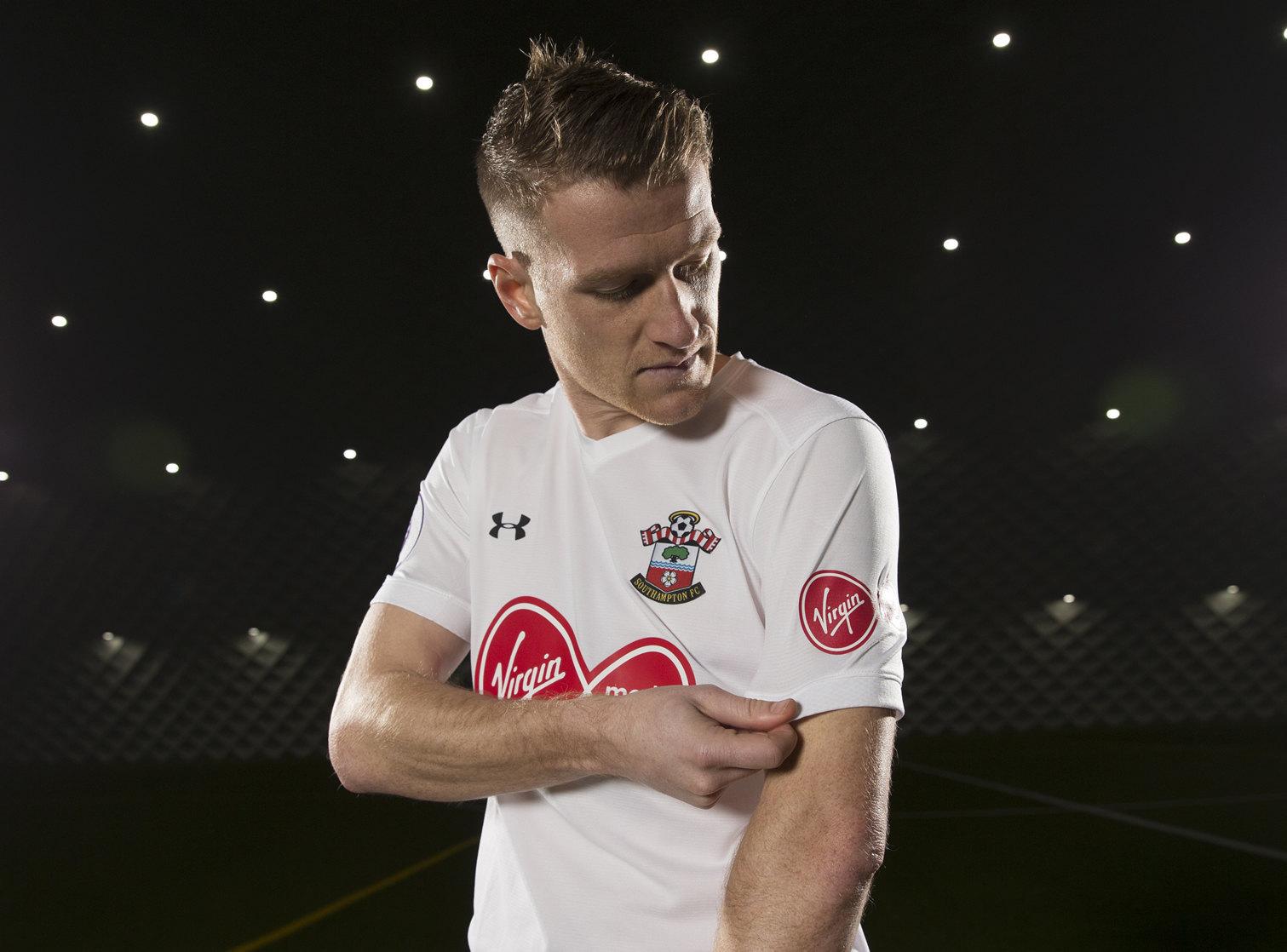 Kit especial blanco del Southampton | Foto Web Oficial