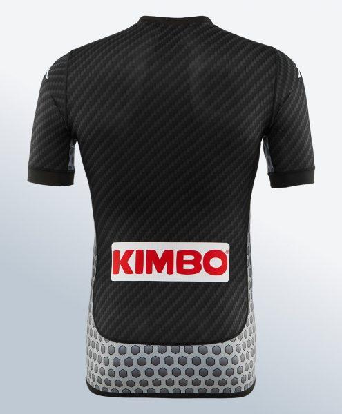 Cuarta camiseta Kappa del SSC Napoli | Foto Web Oficial