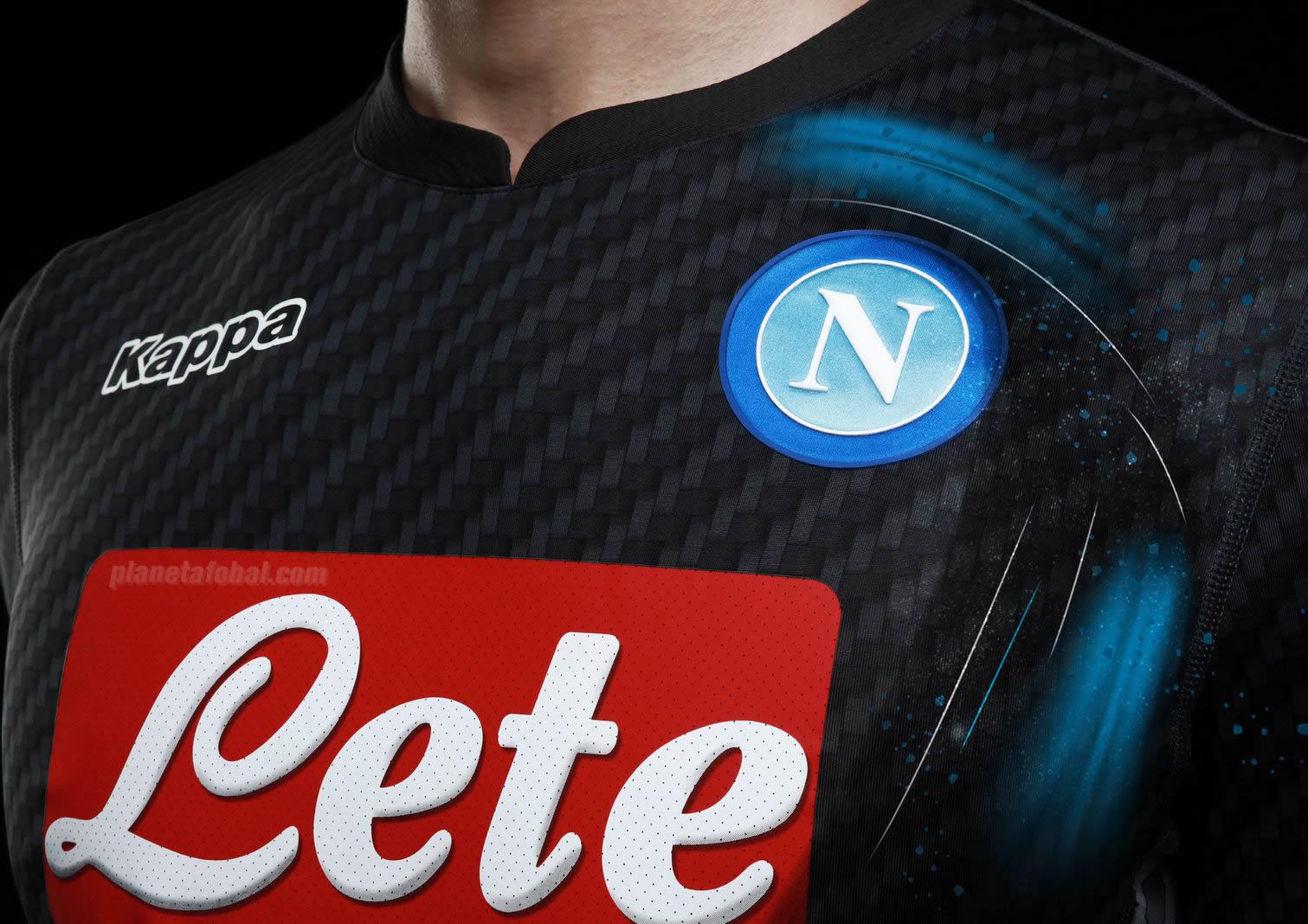 Nueva casaca del SSC Napoli | Foto Kappa